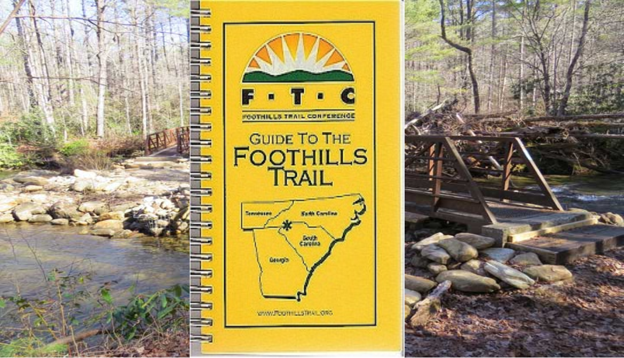 FOOTHILLS TRAIL GUIDE BOOK